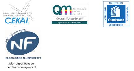 bloc_baie_bso_kline_aluminium_certifications