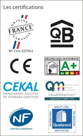 baie_coulissante_galandage_kline_aluminium_certifications